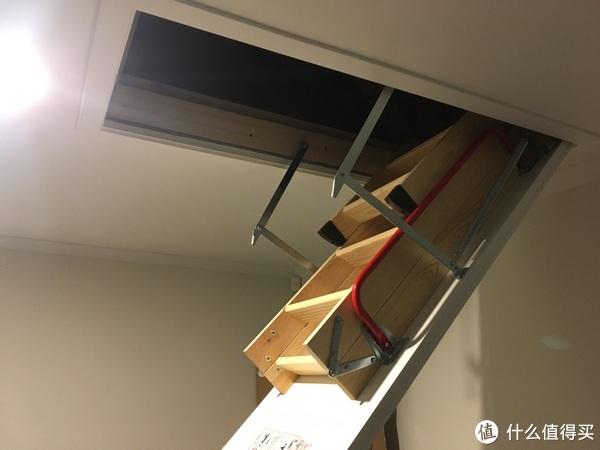 折叠屋顶楼梯