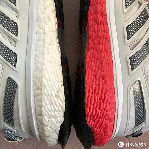 我的本命年红:Adidas 阿迪达斯 Energy Boost 3 运动鞋 中底改色手工记录