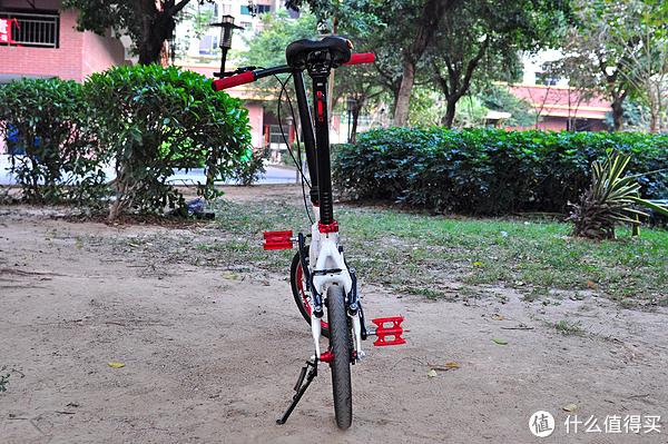 折叠车中的飞度:黑白红的大行BYA412改装版+骑行装备