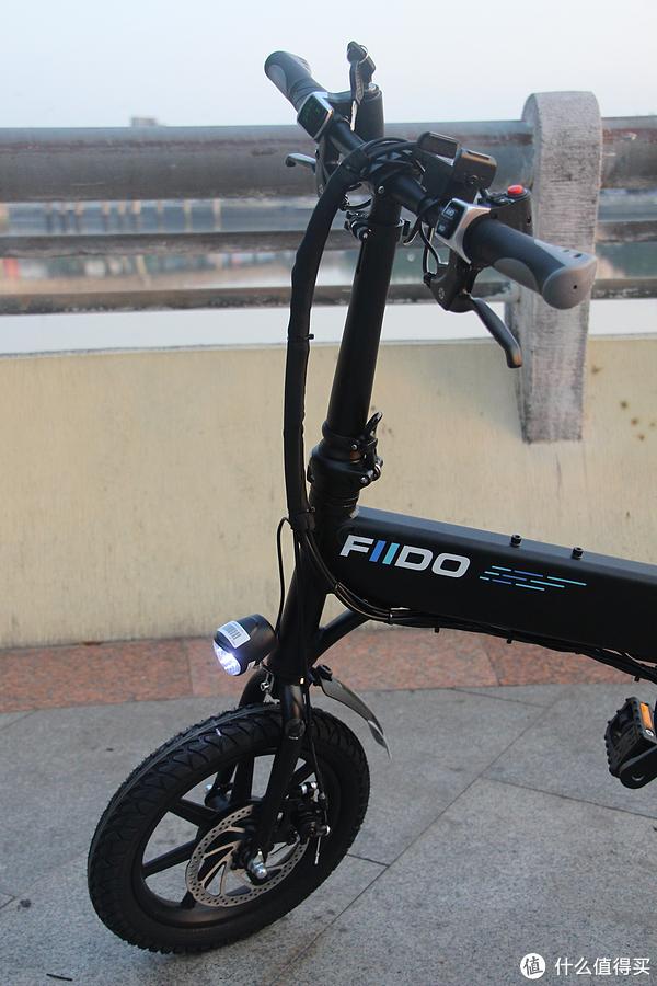 我的通勤新选择:FIIDO D1 折叠助力电单车 初体验