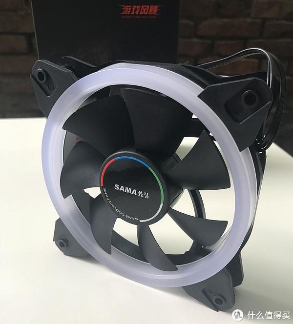 #原创新人#先马SAMA 光环III炫彩RGB风扇套装上机试用