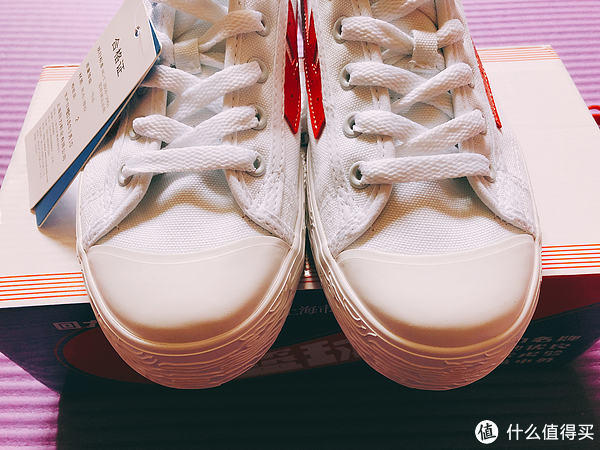 #剁主计划-苏州#回忆杀—Warrior 回力 经典红白篮球鞋 开箱晒单