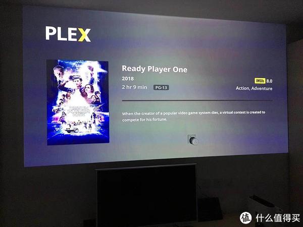 安装PLEX,可以通过NAS等设备大屏欣赏《头号玩家》