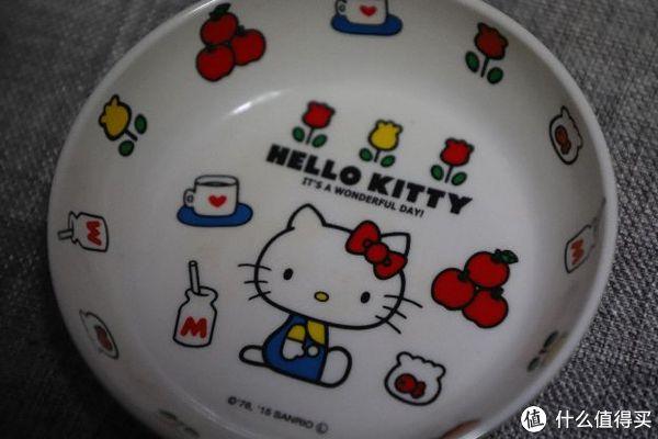 #全民分享季#集合了!宝宝的Hello Kitty餐具套装