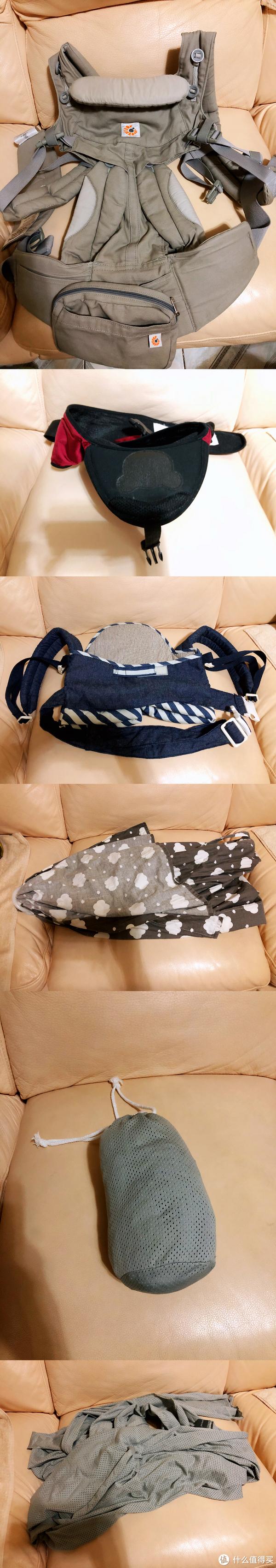 #全民分享季#为了哄娃睡觉带娃出去玩,用了5款背巾,心得体验如下