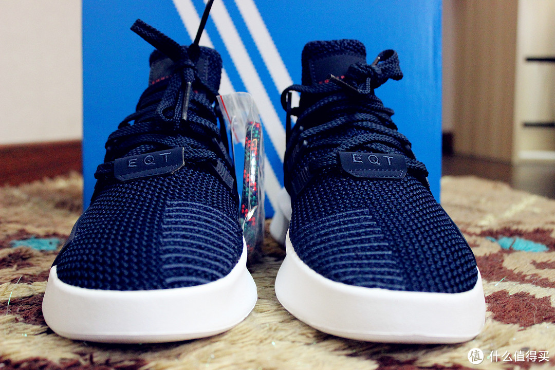 #全民分享季#确认过眼神,我遇上对的鞋: Adidas 阿迪达斯 EQT BASK ADV 运动休闲鞋 开箱