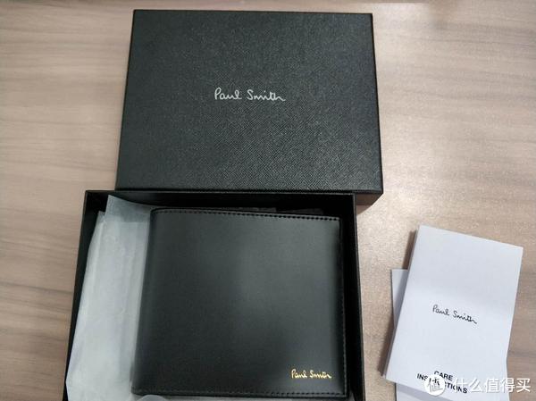 生平第一件奢侈品—Paul Smith 钱包晒单