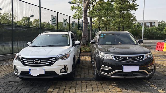 广汽传祺GS4 vs 吉利博越 —— 两款比较有诚意的普通家庭用车 不完全对比