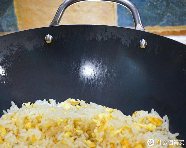 蛋炒饭才是检验真锅的唯一标准:日本极铁 RIVERLIGHT 高纯铁中华神炒锅33cm