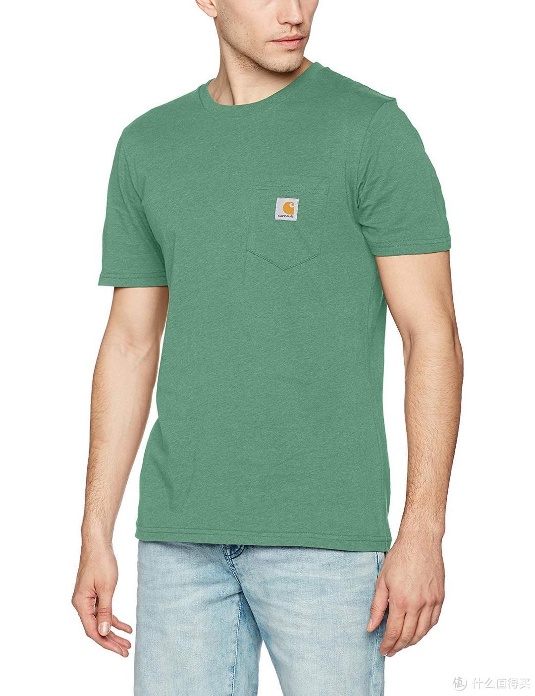短袖衫的逆向天梯 25至700元男士口袋T恤推荐