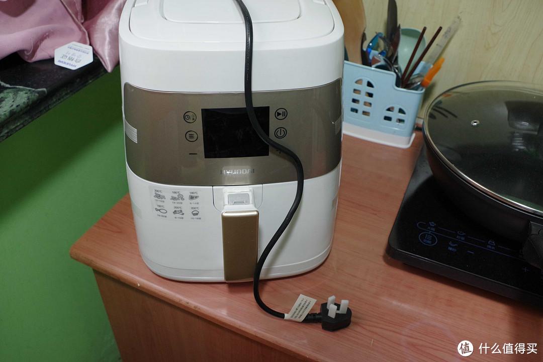 空气的魔法, HYUNDAI 现代电器 第四代空气炸锅 开箱晒单
