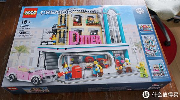 2018年街景新品 LEGO 乐高 10260 DOWNTOWN DINER 城中餐厅