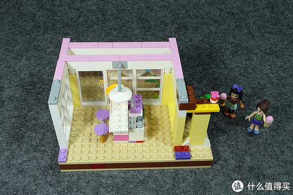 给女儿的乐高,也是我的第一套乐高:(41037)斯蒂芬妮的沙滩小屋
