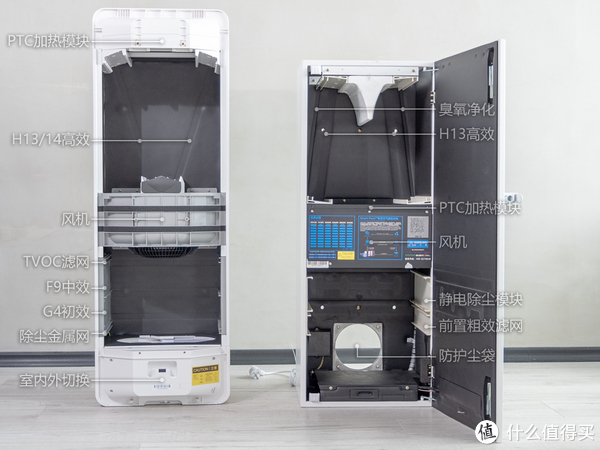 我的治霾设备 篇五:艾泊斯、空气堡,2万元壁挂新风拆解对比