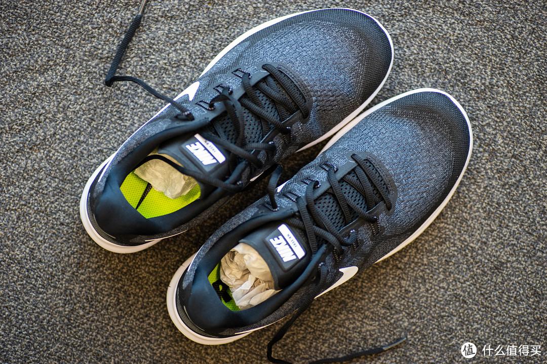 跑步、训练、轧马路—NIKE 耐克 FREE RN 2017 男子跑步鞋开箱及简评