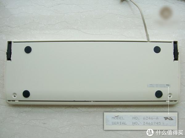古董键盘—Fujitsu 富士通 6246 机械键盘开箱