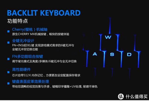 iNSIST 影级 Fortress G55 天龙八部周年版背光机械键盘