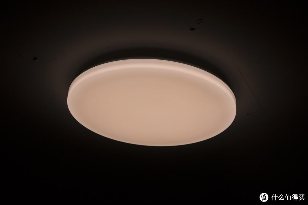 让人猝不及防的米家全家桶—Yeelight 皎月LED卧室吸顶灯开箱