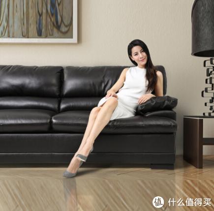 官方宣传图:美式真皮沙发(矮脚)
