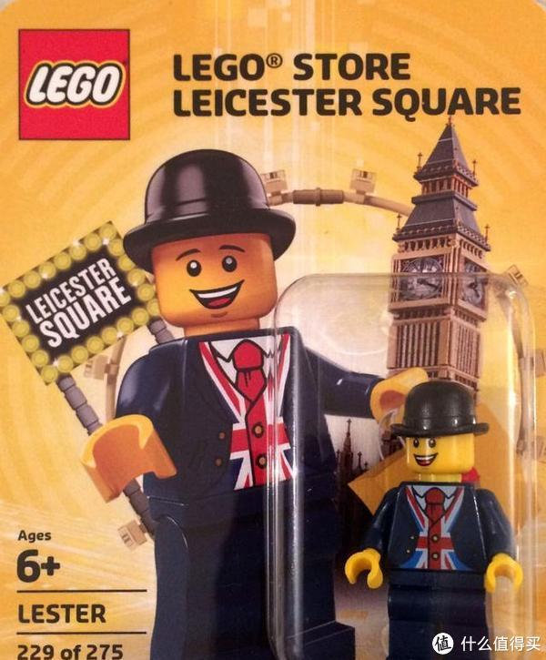 LEGO 40308 英国绅士人仔