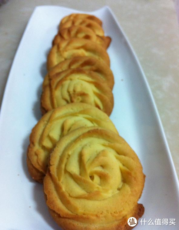玫瑰曲奇饼干