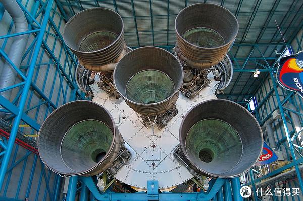 借用维基百科上5个F-1发动机实拍图