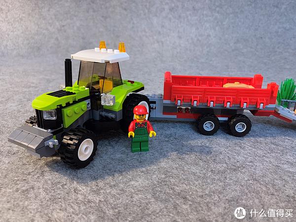 LEGO 乐高 7634 拖拉机和7684 养猪场和拖拉机