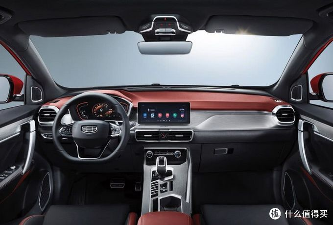 新车速递:吉利小型SUV缤越上市