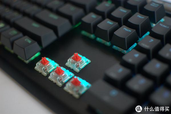shera爸的拆解评测十九:HyperX阿洛伊精英版RGB机械键盘