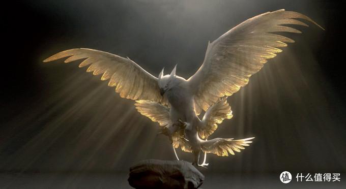最后来看的动物是Thunderbird,直译其名便是雷鸟,也是影片中角色分量较重的一只动物