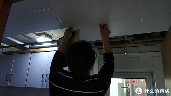 老房翻新之厨房篇 油烟机 垃圾处理器 吊顶