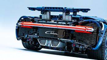 速度与性能的激情、科技与玩具的融合:LEGO 42083 Bugatti-Chiron(布加迪奇龙车模)评测
