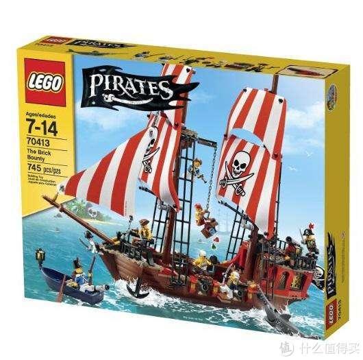 早期海盗系列中的船