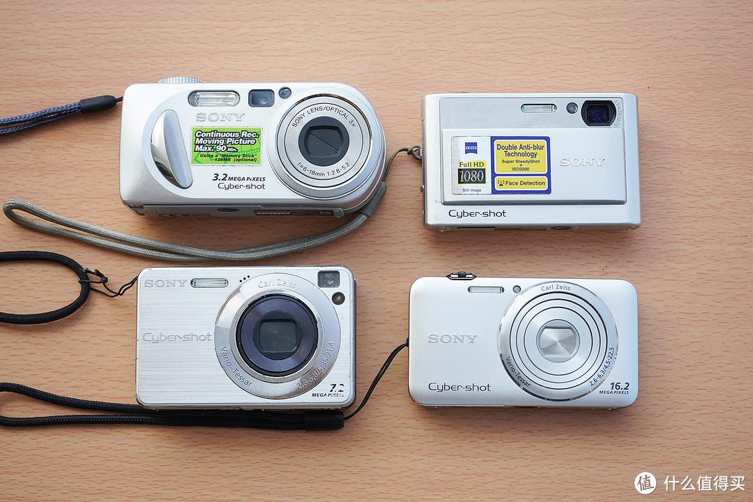 索尼P8、T20、W110、WX30