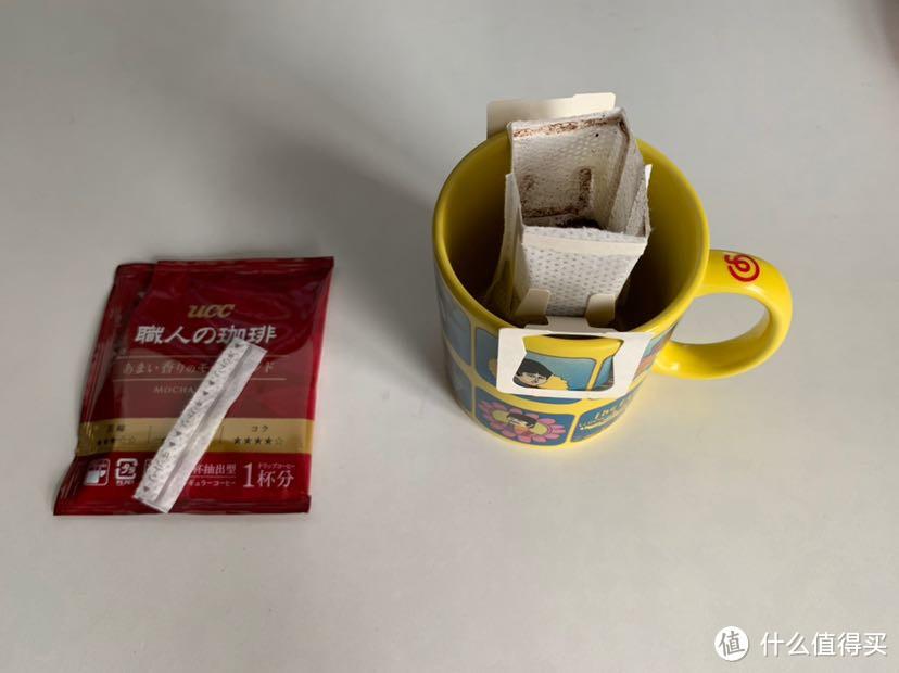 挂耳咖啡初体验:UCC悠诗诗职人滴滤式咖啡 香醇摩卡