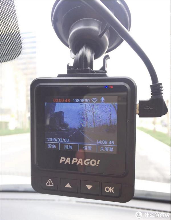专业评测,PAPAGO N291行车记录仪H.265编码2019年新款测试(附带视频)!