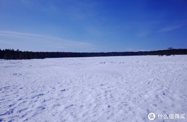 老里克湖冻住了
