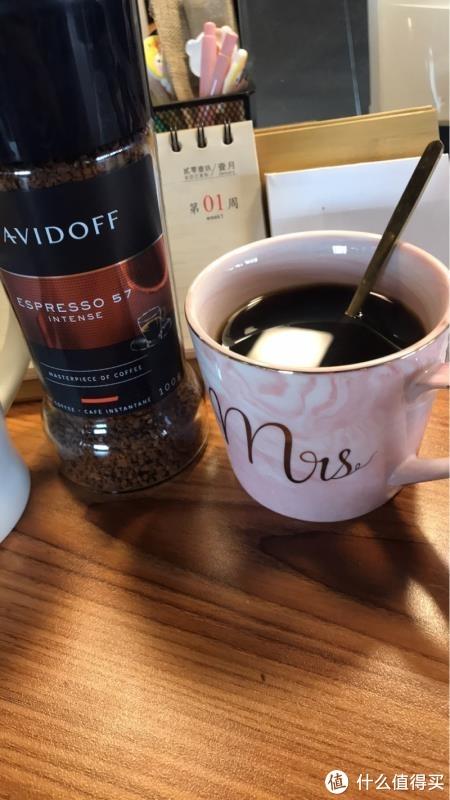 大卫杜夫速溶黑咖啡圈粉记