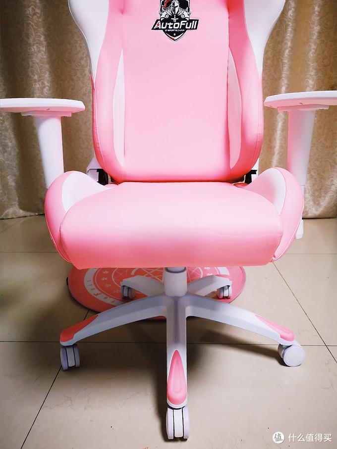 中年少女的软萌电竞椅:傲风粉色雪兔椅众测体验