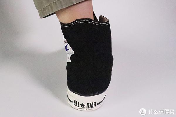 国内匡威炒上天要脸不?日制匡威随便买!经典ALL STAR高帮上脚体验。