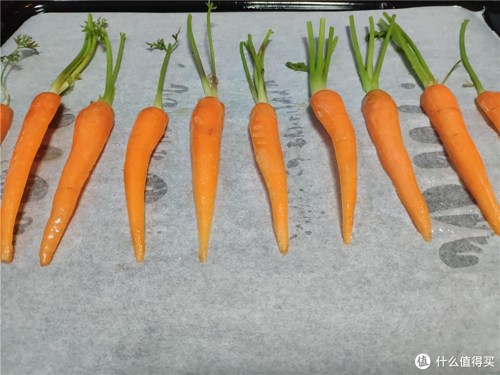 胡萝卜还能烤着吃,这样的口感特别新鲜!
