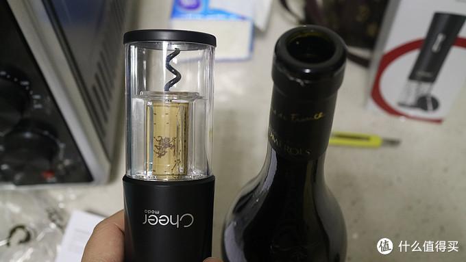 值友强烈推荐 - 8秒开红酒 - cheer启尔 电动红酒开瓶器