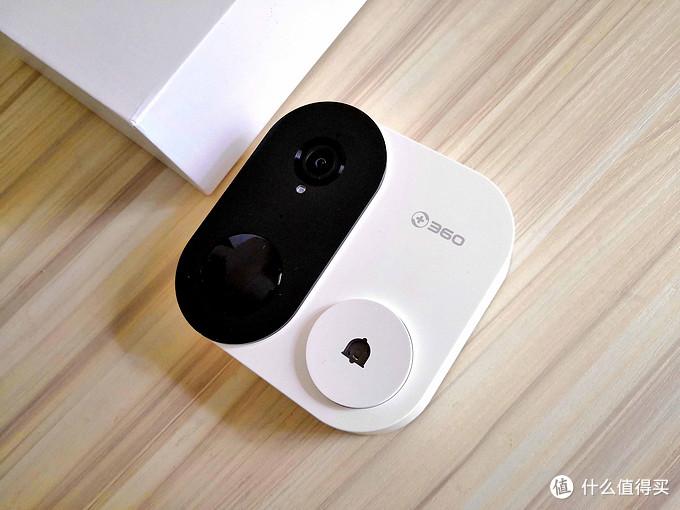 360可视门铃1C,打造心的保护