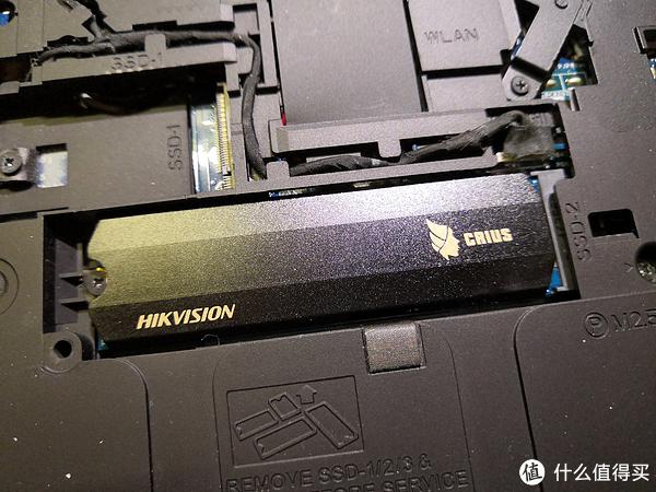 笔记本上机效果,这是笔记本的第二条PCIE 3.0 X4的M2接口