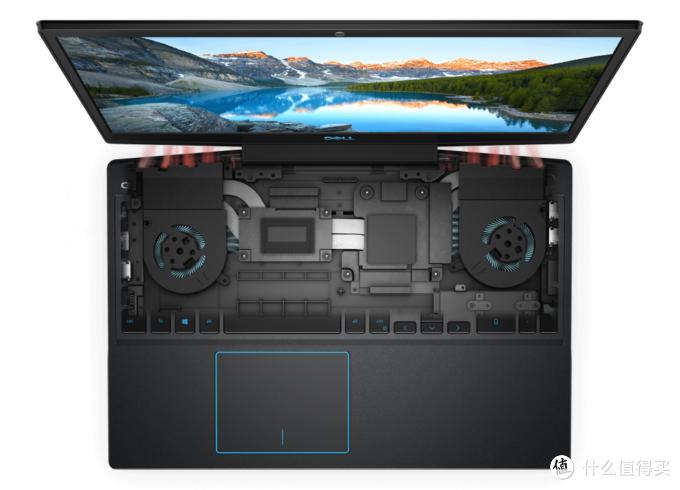 新模具+新功能:DELL 戴尔 2019款 G3游戏本 添加一键散热