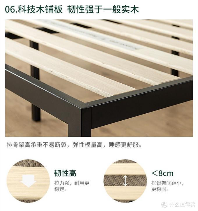 拧33颗螺丝就搭好的Zinus际诺斯实木靠板铁艺床,解决了姐夫家阁楼小卧床空缺的难题