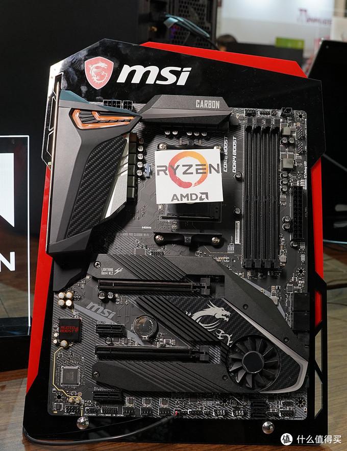 MSI展区高颜值ShowGirl、X570旗舰主板等酷炫硬件一个都不能少!