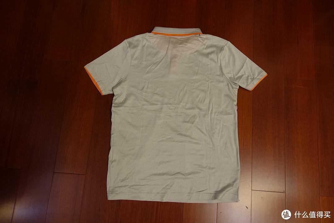 老男孩の夏装——ROBE DI KAPPA灰色两件晒单