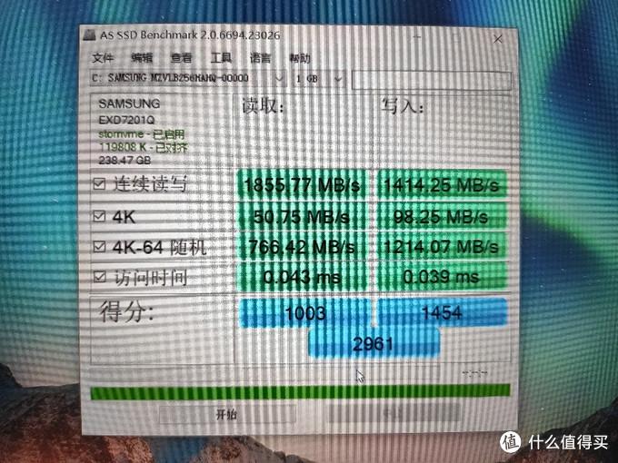 1GB写入得分