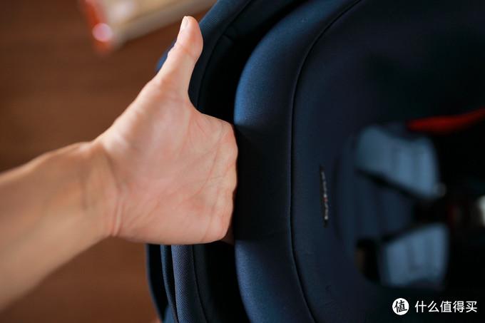 晒我家的第5个安全座椅:宝得适BRITAX 百变骑士二代